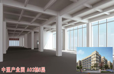 玉洞大道旁中盟产业园内500一970平砖混结构厂房仓库出售