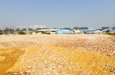 (已成交)上津路仁义粮油市场旁15亩硬化空场地招租